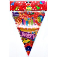 "Артикул  P-3-002  Флаг-баннер "" Party"""